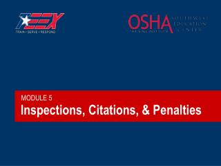 Inspections, Citations, & Penalties
