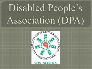 Disabled People's Association ( DPA )
