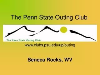 The Penn State Outing Club