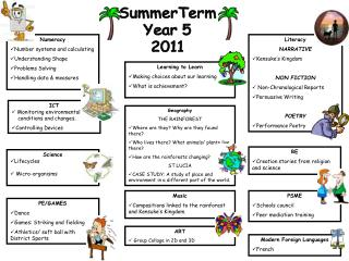 SummerTerm Year 5 2011