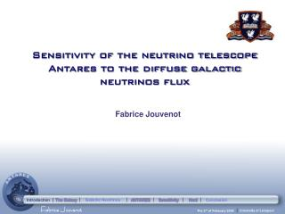 Sensitivity of the neutrino telescope Antares to the diffuse galactic neutrinos flux