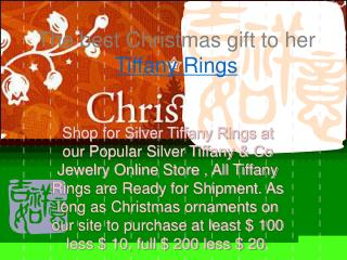 Tiffany Bracelets of Christmas