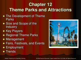 Chapter 12  Theme Parks and Attractions