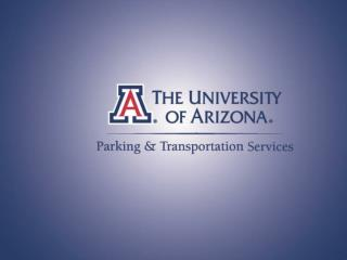 Parking & Transportation Services Mission