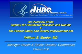 Michigan Health & Safety Coalition Conference 29 March 2006