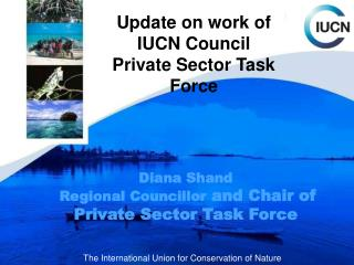 Update on work of IUCN Council  Private Sector Task Force