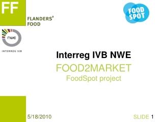 Interreg IVB NWE