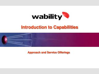 Introduction to Capabilities