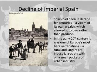 Decline of Imperial Spain