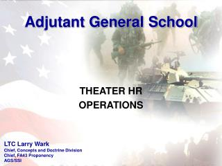 THEATER HR OPERATIONS