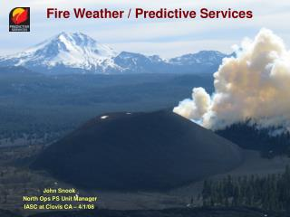 Fire Weather / Predictive Services