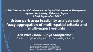 Symposium on Public Understanding of Science and Technology PUSAT 2008