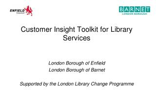 Customer Insight Toolkit for Library Services