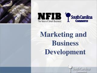 Marketing and Business Development