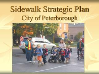 Sidewalk Strategic Plan City of Peterborough
