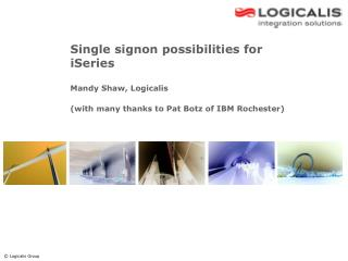 Single signon possibilities for iSeries