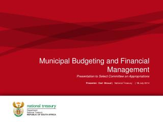Municipal Budgeting and Financial Management