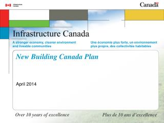 New Building Canada Plan