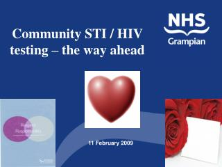 Community STI / HIV    testing – the way ahead