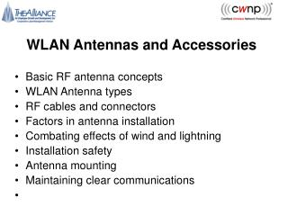 WLAN Antennas and Accessories