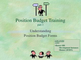 Position Budget Training part 1
