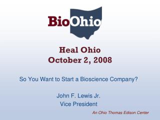 Heal Ohio October 2, 2008
