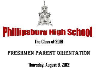 Freshmen PARENT orientation