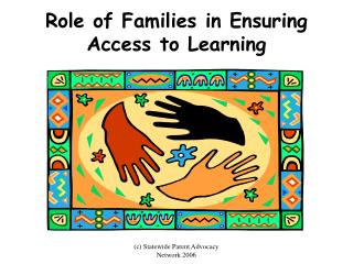 Role of Families in Ensuring Access to Learning