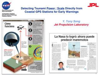 Detecting Tsunami  Power / Scale  Directly from Coastal GPS Stations for Early Warnings