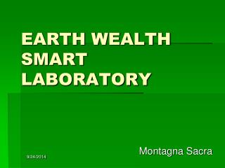 EARTH WEALTH SMART LABORATORY