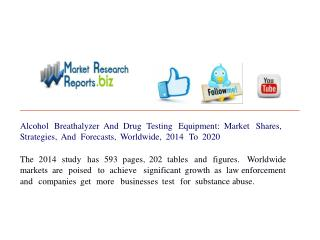 Alcohol Breathalyzer And Drug Testing Equipment: Market Shar