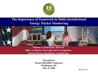 The Importance of Teamwork in Multi-Jurisdictional Energy Market Monitoring