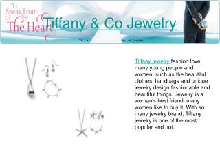 Discount Tiffany Jewelry