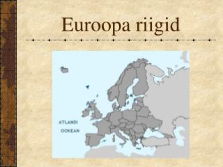 Euroopa riigid