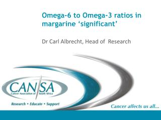 Omega-6 to Omega-3 ratios in margarine 'significant'