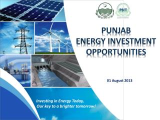 PUNJAB  ENERGY INVESTMENT OPPORTUNITIES
