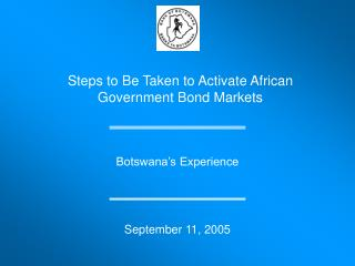 Steps to Be Taken to Activate African Government Bond Markets