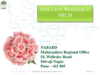 State Level Workshop on NRLM