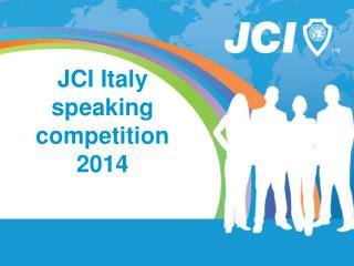 JCI Italy  speaking competition 2014