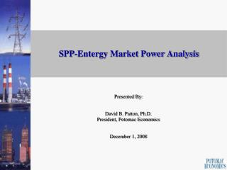 SPP-Entergy Market Power Analysis