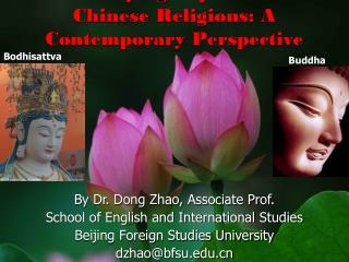 By Dr. Dong Zhao, Associate Prof. School of English and International Studies