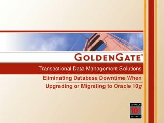 Transactional Data Management Solutions