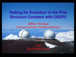 Testing for Evolution in the Fine Structure Constant with DEEP2