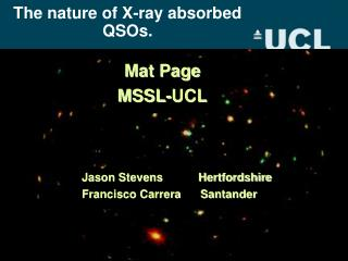 The nature of X-ray absorbed QSOs.