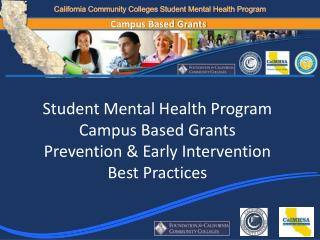 California Community Colleges Student Mental Health Program