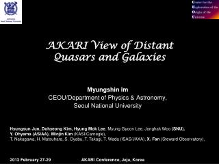 AKARI View of Distant Quasars and Galaxies