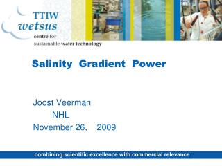 Salinity  Gradient  Power