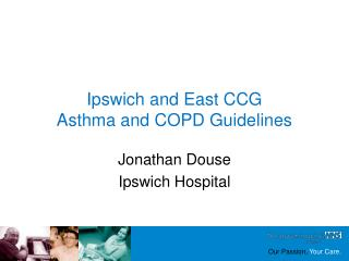 Ipswich and East CCG Asthma and COPD Guidelines