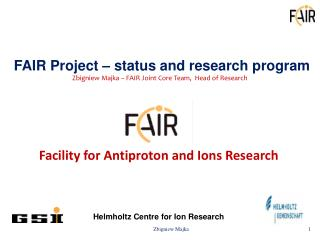 Facility for Antiproton and Ions Research