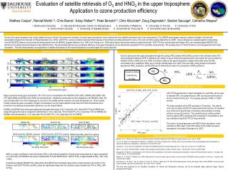 Evaluation of satellite retrievals of O 3  and HNO 3  in the upper troposphere: